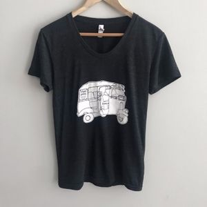 Tops - Namaste Y'all | Black Graphic Tee in Size Large